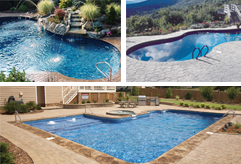 View our inground pool gallery to get ideas on which pool would look best in your backyard