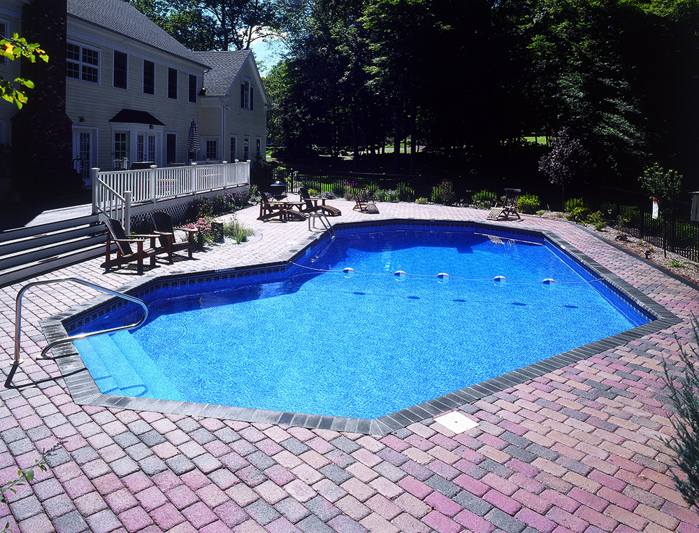 Legacy pool gallery grecian for Lazy l shaped pool covers