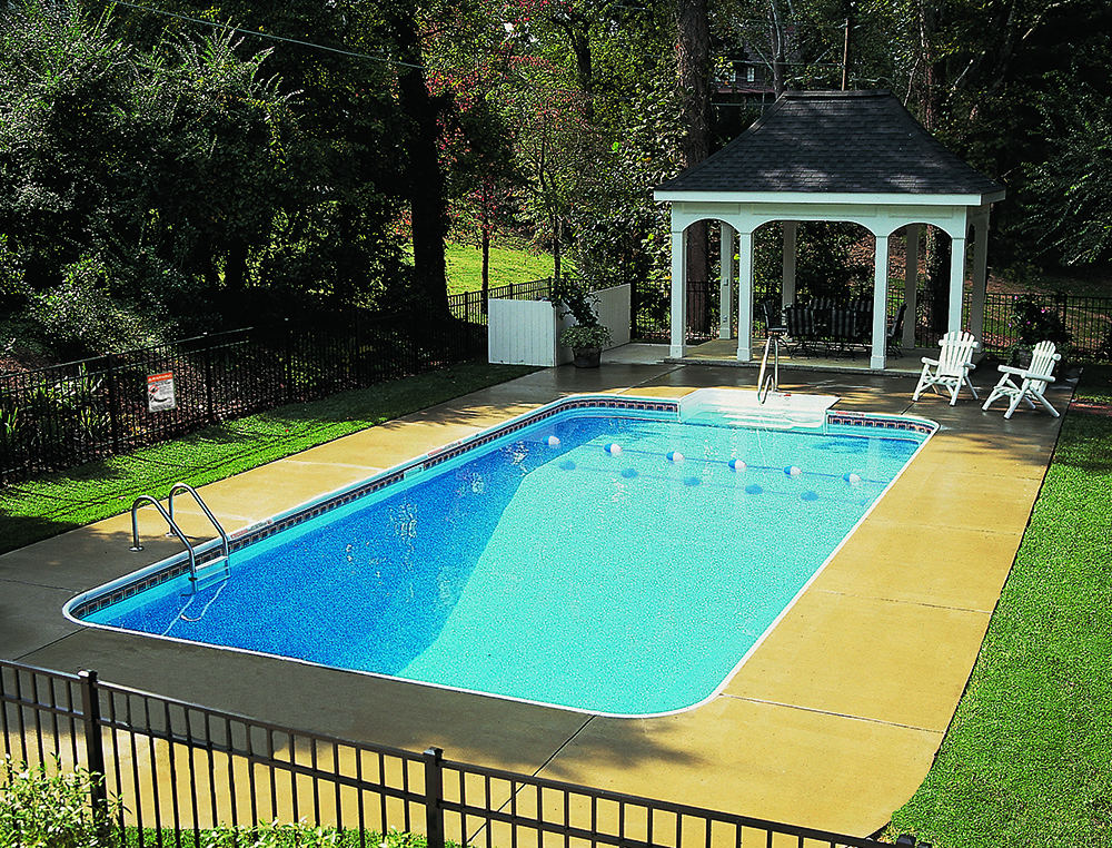 Legacy pool gallery 2ft radius rectangle for A rectangular swimming pool is 6 ft deep