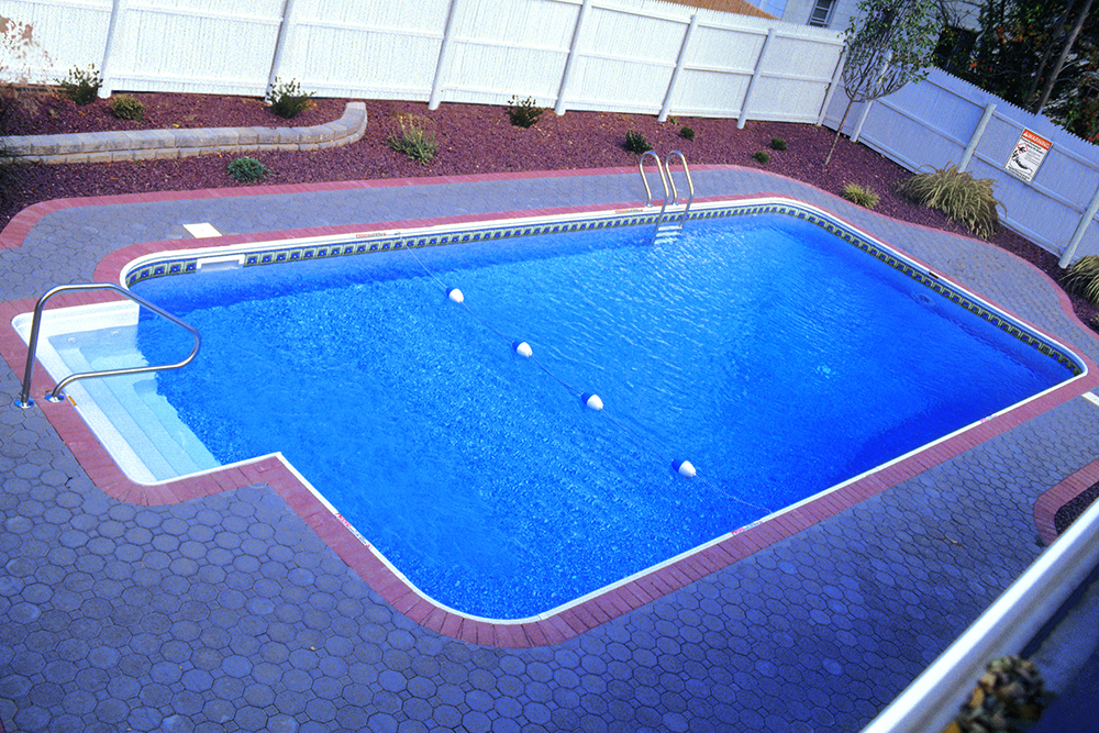 Legacy Pool Gallery 2ft Radius Rectangle