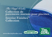 The Vinyl Works Interior Pool Finishes and Patterns Brochure - French Version