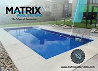 matrix pool systems polymer inground pool brochure