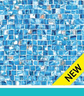 Azure Mosaic 27 Mil