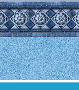 Florentine | Blue Crystal, 27/20 • 27/27 Mil