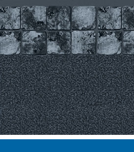 Inground Swimming Pool Liner Choices - Gray Slate | Black Granite, 27/27 Mil