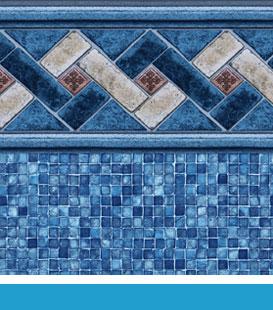 Sierra | Mosaic Liner Pattern, 20/20 • 27/20 • 27/27 Mil